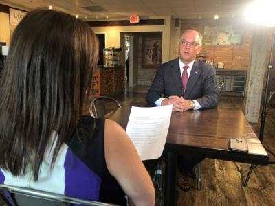 Jamie Ostroff interviews Gov. Edwards