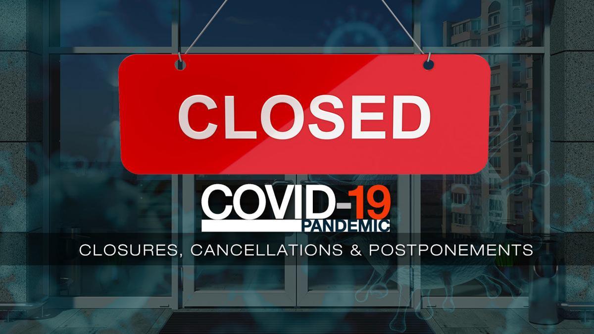 coronavirus closings