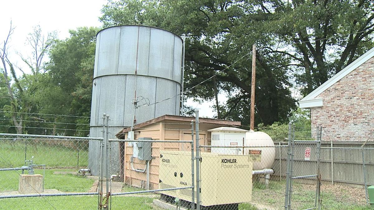 Keatchie Water System plant