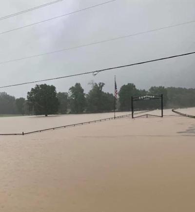 Flooding Near Robeline (Barry Howard)