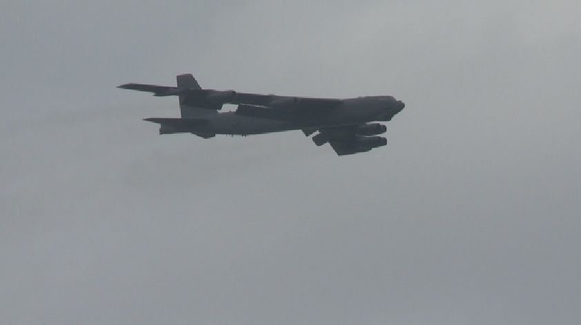 B-52s deployed from Barksdale Air Force Base to Middle East
