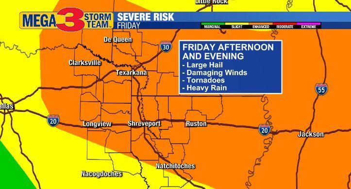 Enhanced Risk of Severe Storms (Storm Prediction Center)
