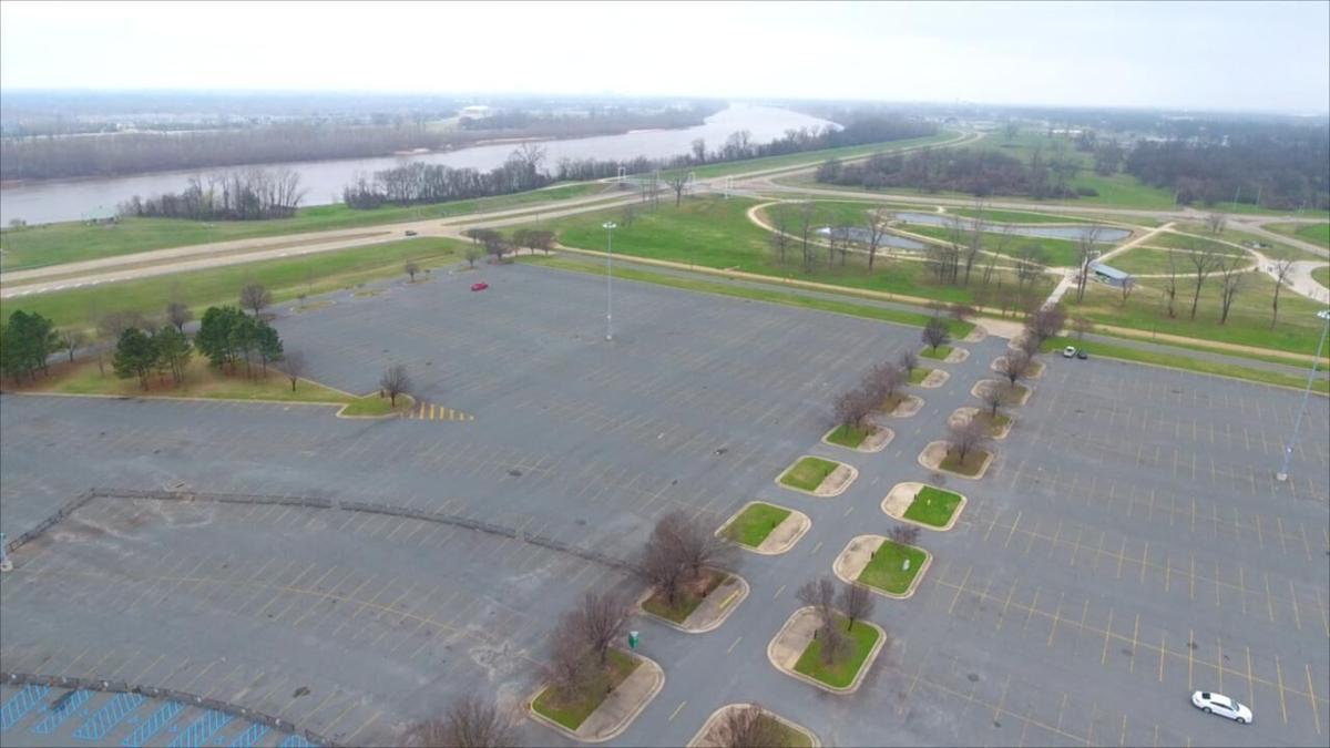 Arena Parking lot
