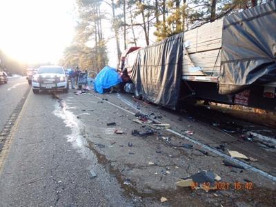 Fatal crash on LA Hwy 6