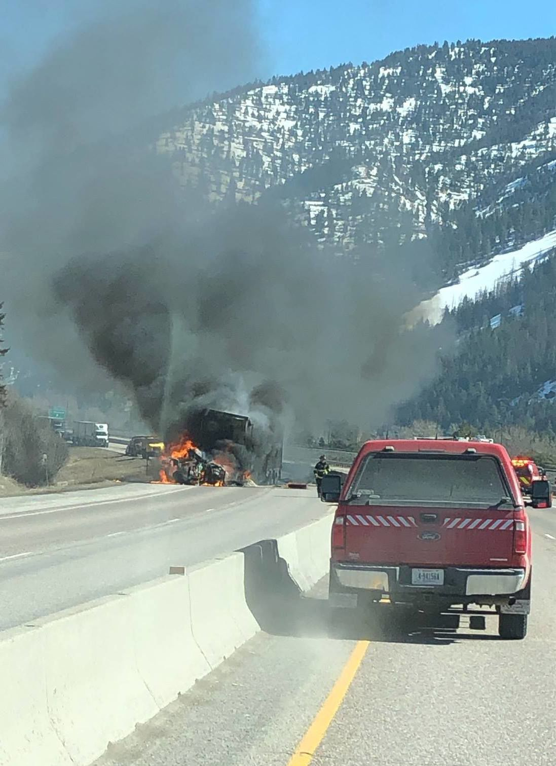 I-90 east of Missoula closed due to fatal head-on wreck