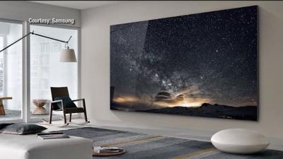 Samsung 219-inch television