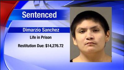 Dimarzio Sanchez Sentenced