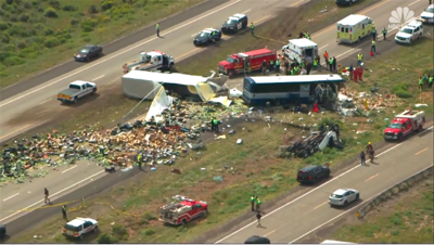 Eight dead in New Mexico bus crash