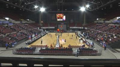 Fans enjoy day one of the NAIA Women's Basketball Championship