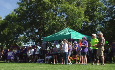 Walk to End Alzheimer's raises $70k
