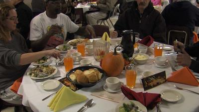 A Thanksgiving feast at the Montana Rescue Mission