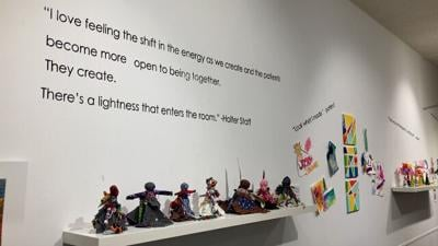 Healing Arts exhibit at Holter Museum helps St. Peter's patients express themselves