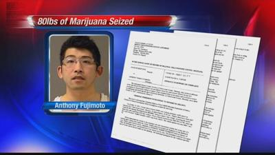 Traffic violation leads to major drug bust