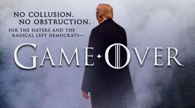 President Trump responds to Mueller report with 'Game of Thrones' reference