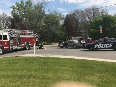 Crash on Lewis Avenue