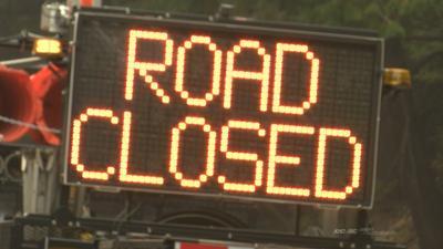 Road closed Vault photo