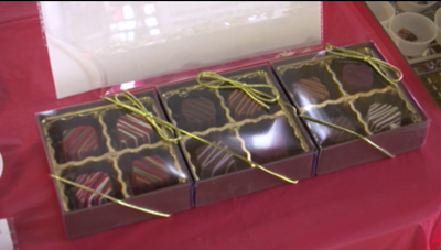 Candy Town USA shows off their newest goodies, truffles
