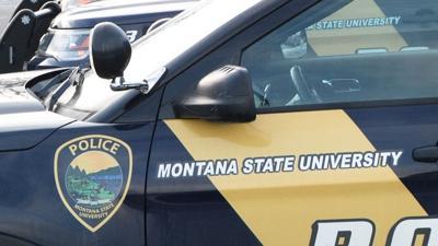 MSU Montana State Police car