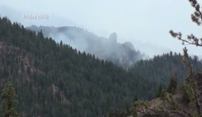 Fishhawk Fire less of a threat to lodges, cabins