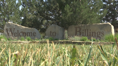 welcome to Billings sign