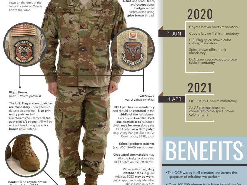 Air Force makes uniform changes | Regional | kulr8 com