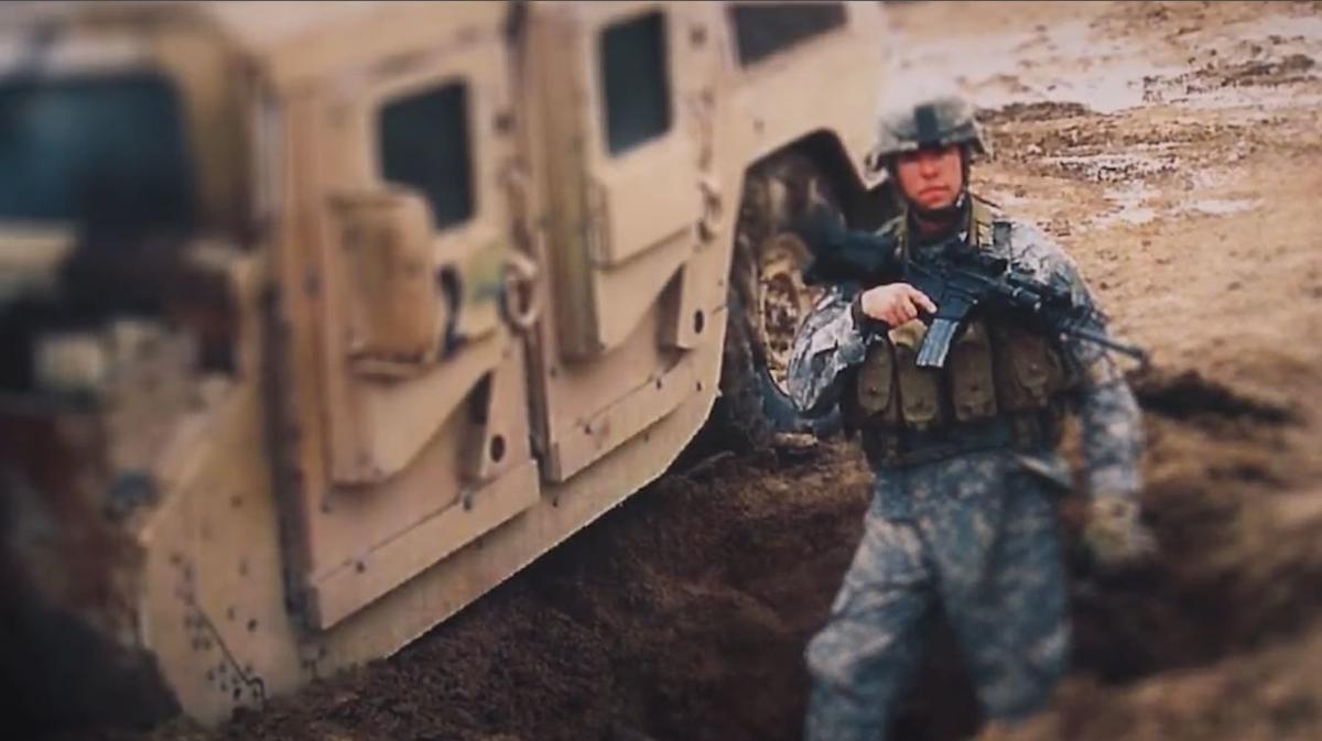Staff Sergeant Travis Atkins