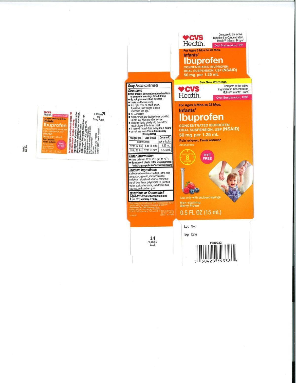 Recalled Ibuprofen - CVS Pharmacy