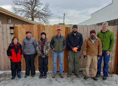Boy Scout troop fixes fence after DUI leaves Bozeman family picking up the pieces