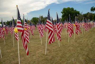 Laurel Exchange Club hosts second annual Healing Field to remember 9/11