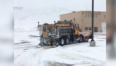 Pickup truck traveling at high speeds hits snow plow truck