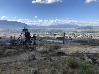 Fire in Uptown Butte caused by fireworks