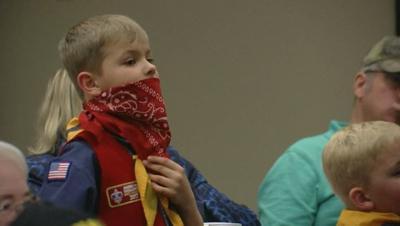 Laurel Cub Scouts celebrate achievements, raise money for Mason Moore Foundation
