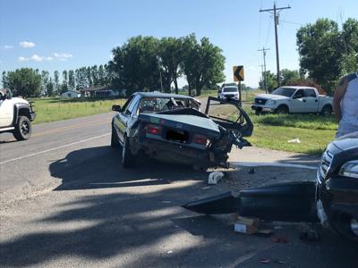 2 ejected, 3 injured in crash on Hwy 312