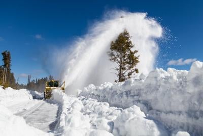 How Yellowstone crews plow 300+ miles of snow packed roads for the spring
