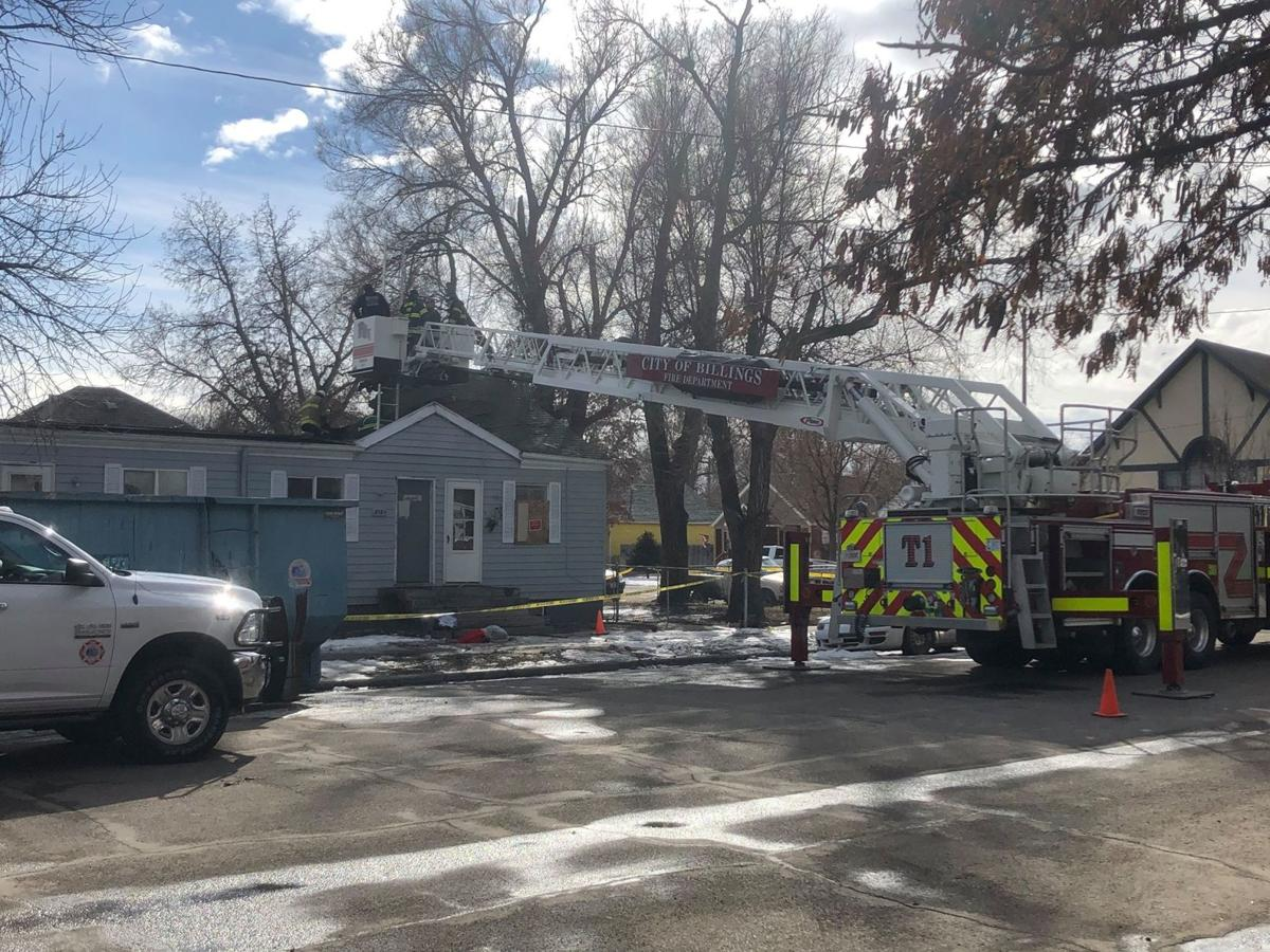 House fire on Billings south side remains under investigation following $180,000 in est. losses