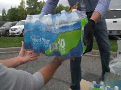 Sam's Club donates nearly 2,000 bottles of water for Ballantine, Worden