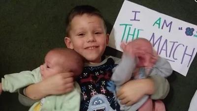 4-year-old donates bone marrow to baby twin brothers