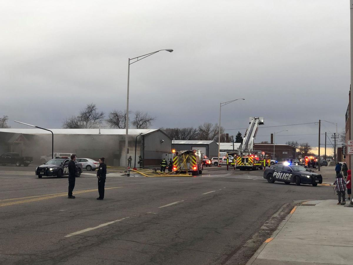 Crews working to contain structure fire on Billings south side