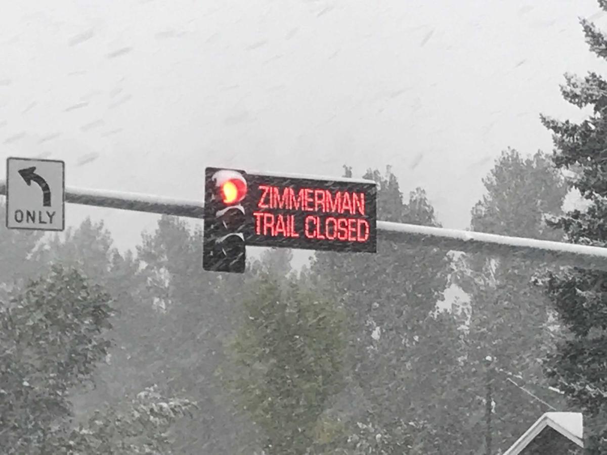 Zimmerman Trail Closed