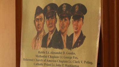 'Immortal Chaplains' poster