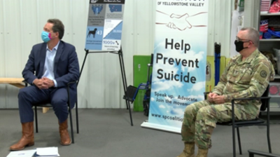 Gov. Bullock announces grants for veteran suicide prevention