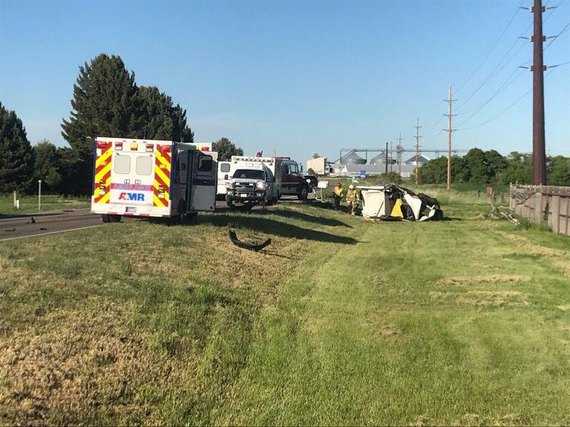 Fatal crash in Huntley