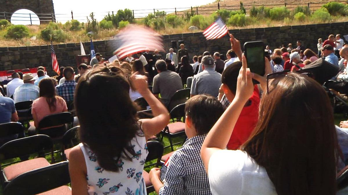 America's newest citizens welcomed in Yellowstone