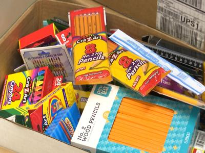 United Way delivers supplies to local schools