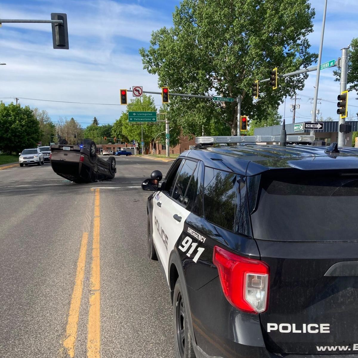 Police: Rollover crash leaves driver without critical injuries in Bozeman