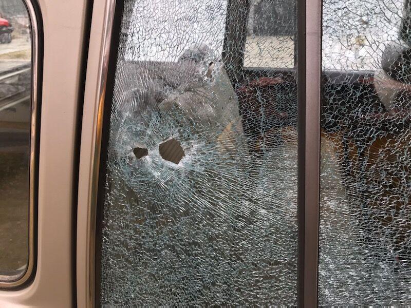 Vehicle shot Colton Blvd 2