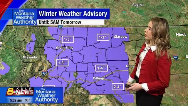 2-13-19 Bozeman Weather Authority Alert   Wake Up Montana   kulr8 com