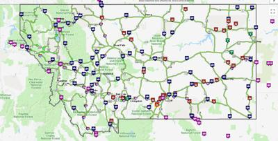 Flooding closes I-90 from Hardin to state line