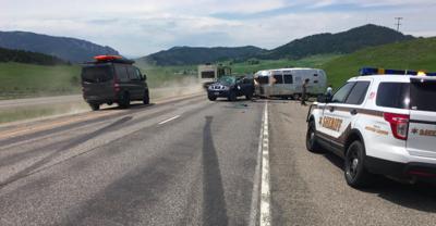 MHP responds to crash on Bozeman Hill