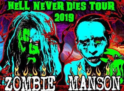 Rob Zombie And Marilyn Manson Coming To Billings July 25th